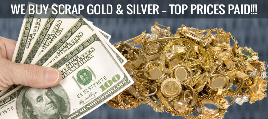 highest prices for scrap gold & silver